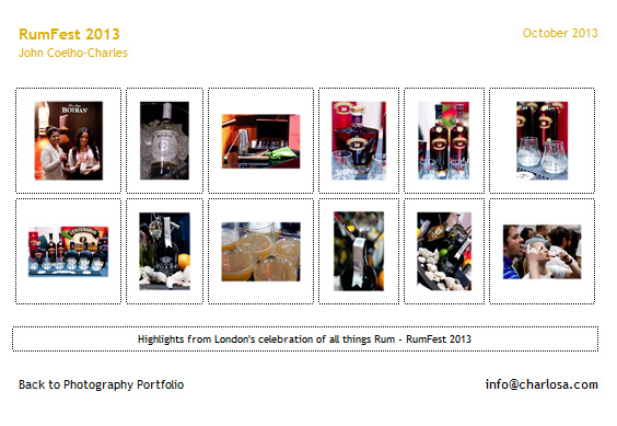 RumFest 2013 Photography Gallery