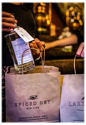 Spiced Dry Rum Club Gift Bag