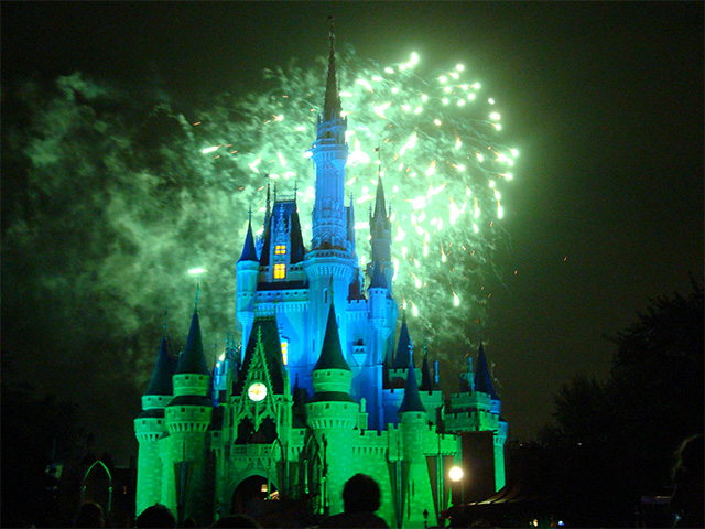 Wishes Nighttime Fireworks Spectacular at Disney's Magic Kingdom