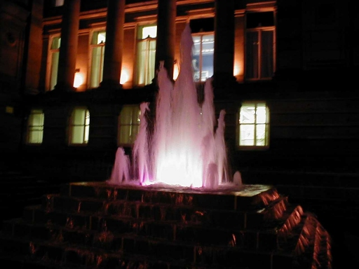 Town Hall Fountain
