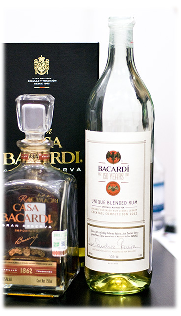 Bacardi Gran Reserva and 150 Years Legacy Cocktail Competition Rum