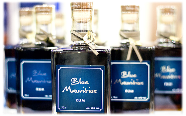 Blue Mauritius Gold Rums