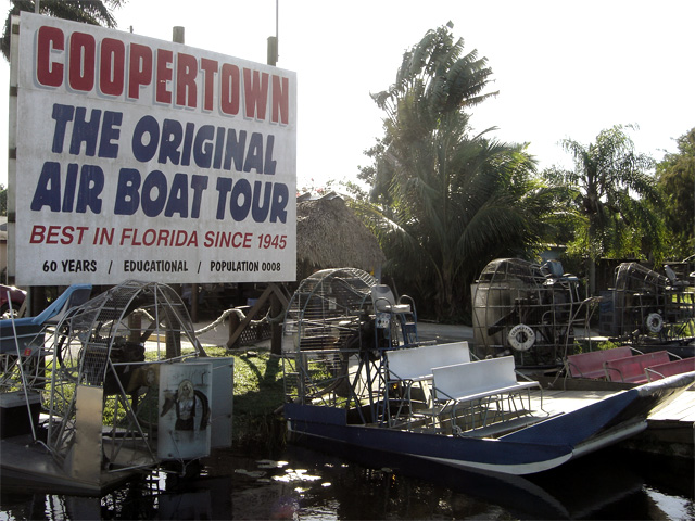 Coopertown Air Boat Tours